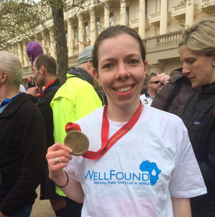 London Marathon Runner raises £1,300 for WellFound!