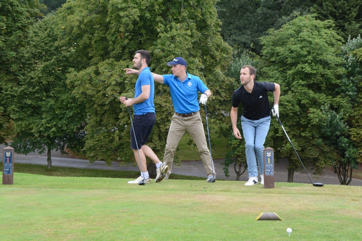 WellFound charity golf day - thank-you