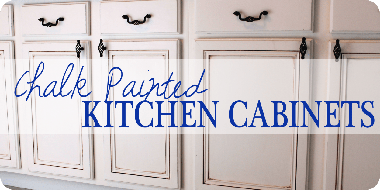 Chalk Paint For Kitchen Cabinets | Painted Kitchen Cabinets Chalk Paint Well Groomed Home
