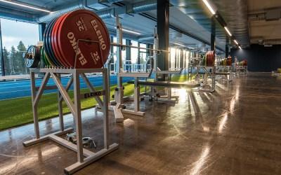 Tampereen Well Gym kuntosalin 3krs. poikkeuksellisesti varattuna toukokuussa