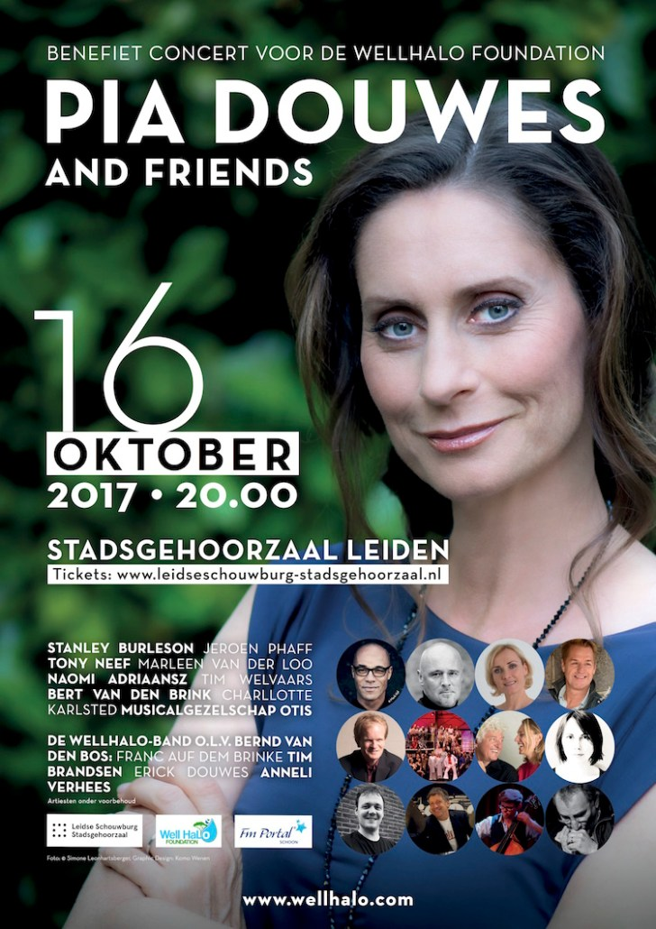 Pia Douwes and Friends poster