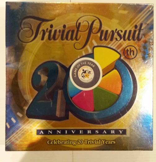 Trivial Pursuit 20th Anniversary Edition Game (Brand New) Starting Bid- £1