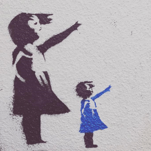 Banksy Style