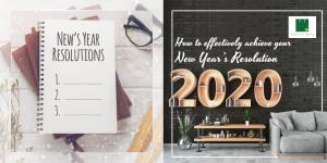 How To Effectively Achieve Your New Year's Resolution