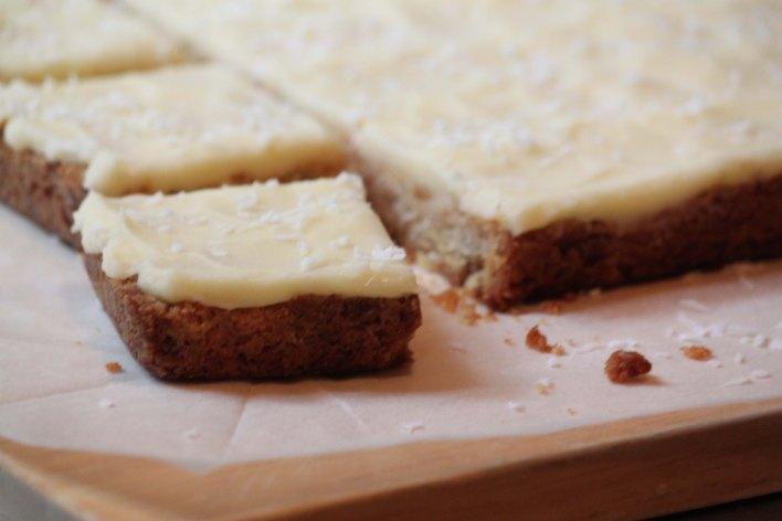 Lemon Slice cut into squares