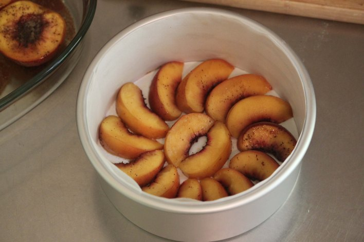peaches in tin