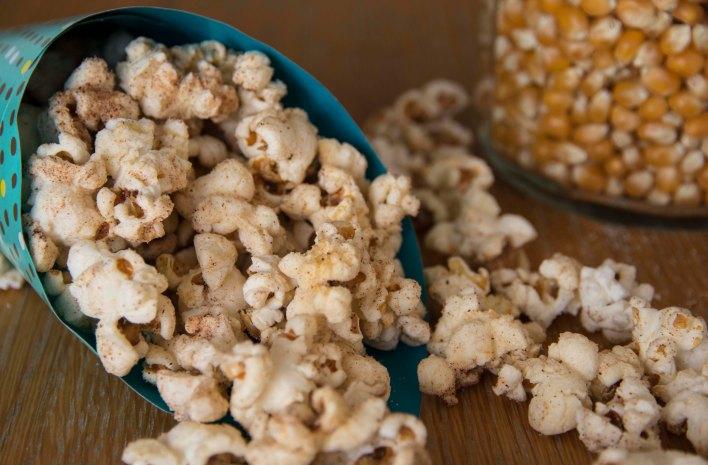 Cinnamon + Chili Popcorn