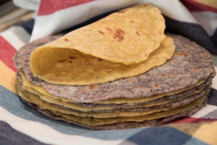 Half + Half Tortillas 9