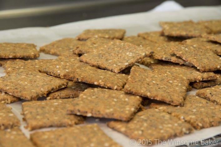 Seeded Multi-grain Crackers-12