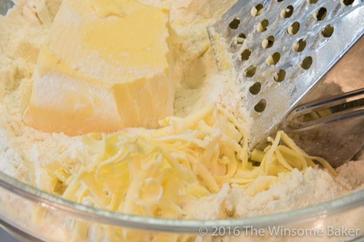 Blueberry Cream Cheese + Mint Crostatas-2