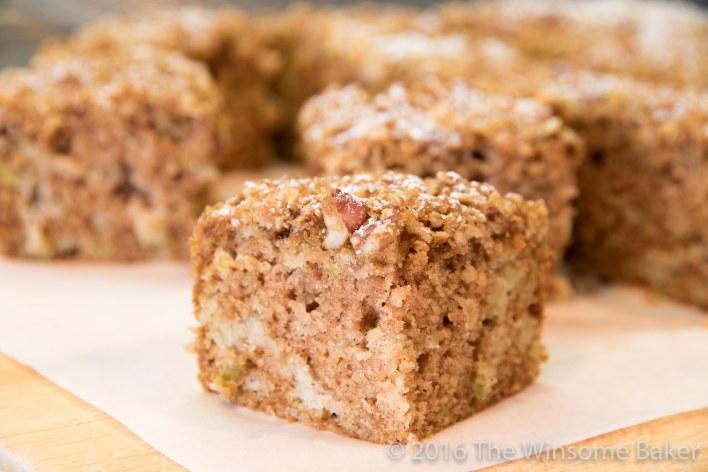 Apple Streusel Snack Cake