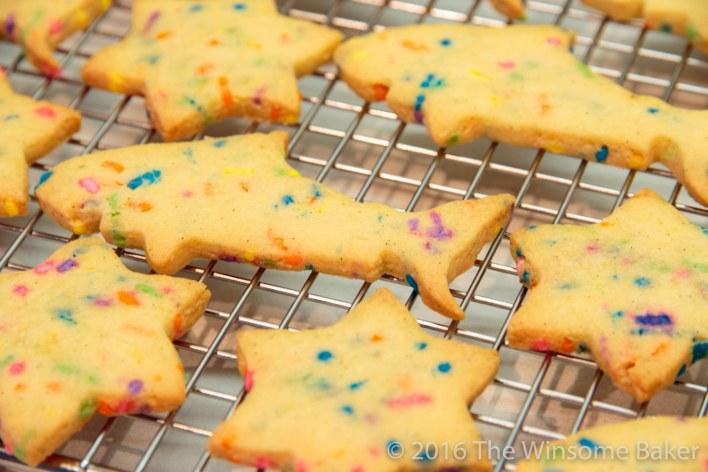 Vanilla Bean Funfetti Cut-out Cookies -8