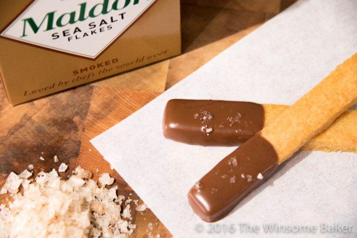 Malt, Chocolate + Sea Salt Finger Cookies -16