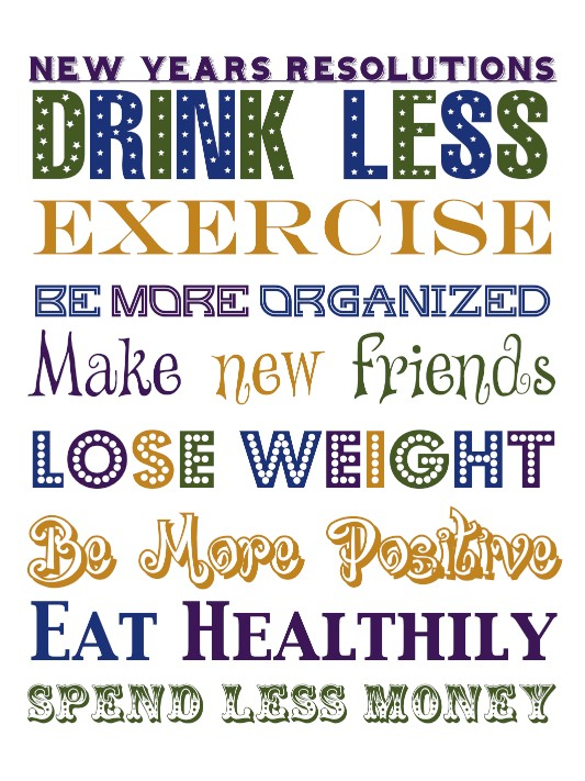 New Year Resolutions to Improve Emotional Health