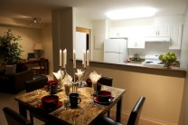Suite Dining/ Kitchen