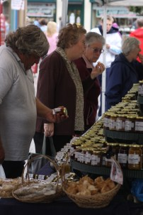 The farmers market in 2008