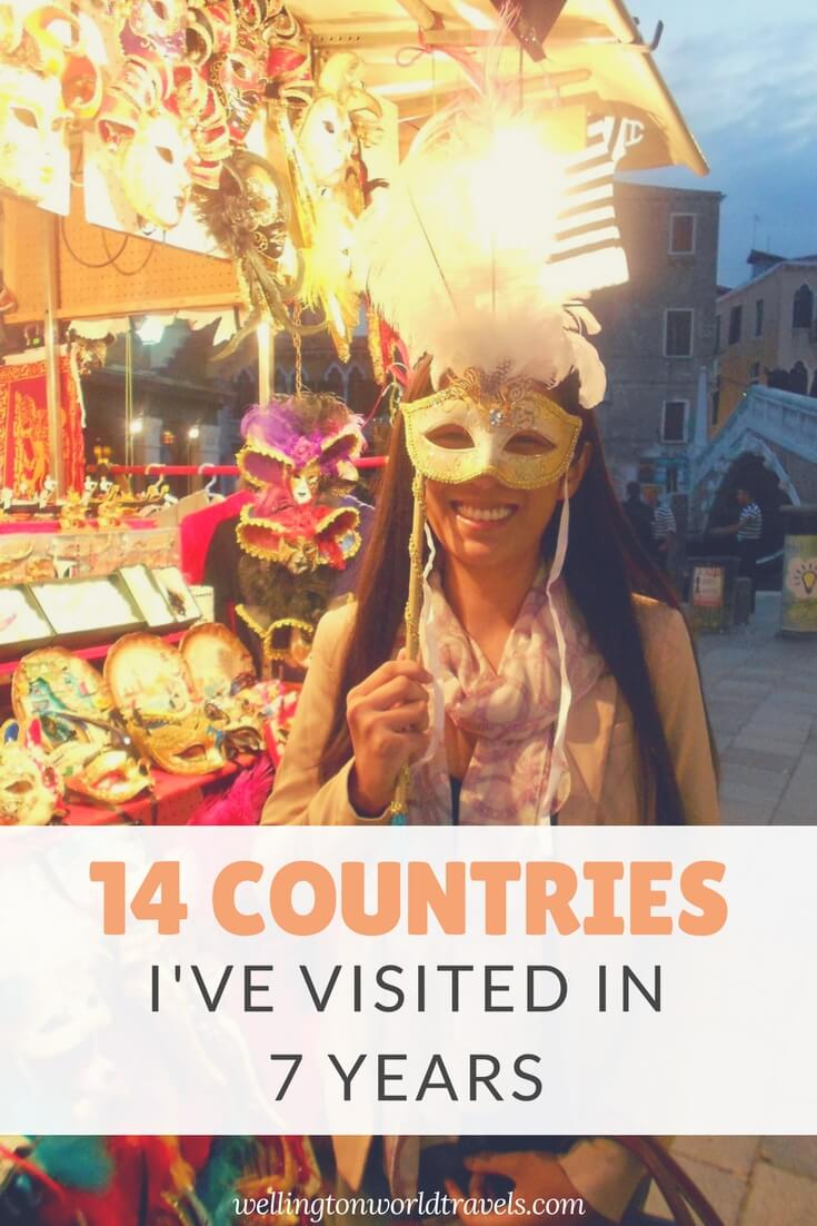 #TravelMilestone 14 Europe Countries I've Visited in 7 years - Wellington World Travels | travel bucket list ideas | travel destinations