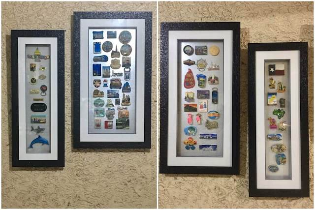 fridge magnet travel souvenir collection