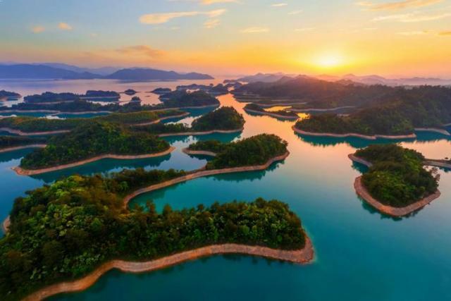 Qiandao Lake, Zhejiang Province, China