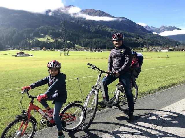 expat life in Switzerland - Sunrita family