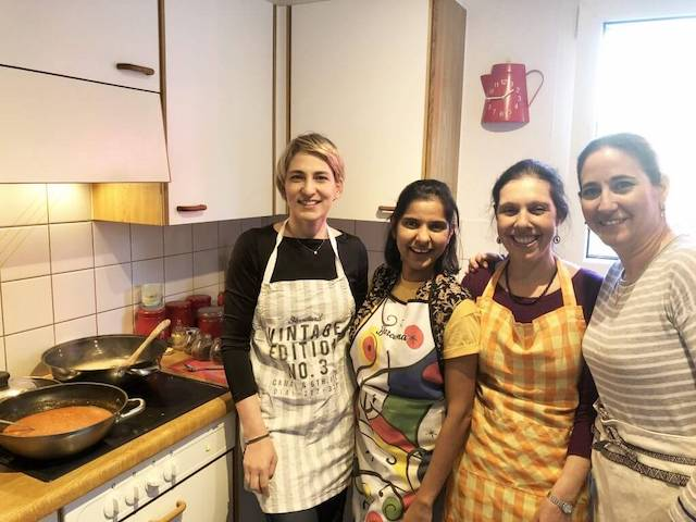 expat life in Switzerland - Sunrita cooking class