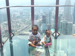 Kuala Lumpur with Kids: KL Tower, Mini Zoo, Aquarium
