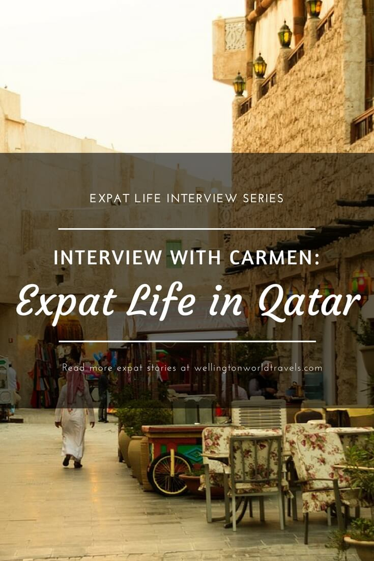 Interview with Carmen: Expat Life in Qatar