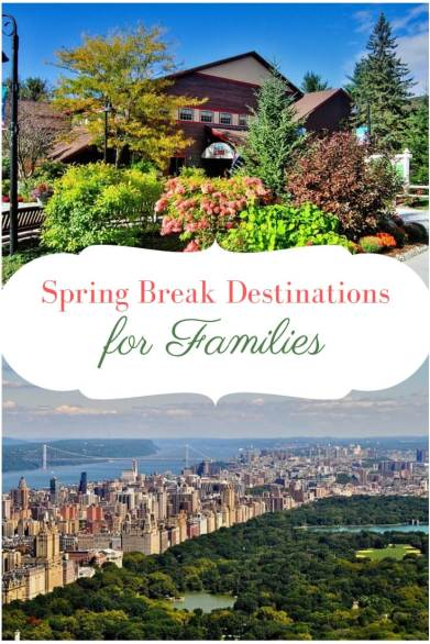 Family-Friendly Spring Break Destinations in the USA - Wellington World Travels | USA travel | family friendly destinations | Spring destinations #springbreak #familytravel #travelwithkids