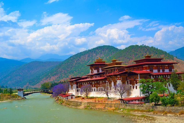 PunakhaDzong, Bhutan by Tale of 2 Backpackers