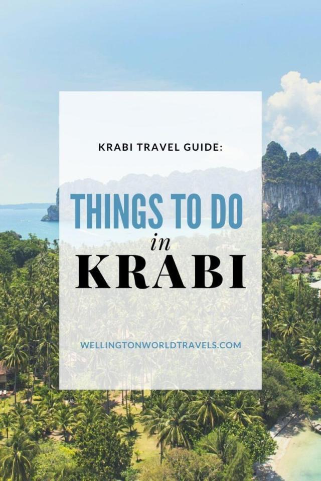 Things to do and activities in Krabi, Thailand - Wellington World Travels | Krabi Tourism | Krabi travel guide | Krabi activities