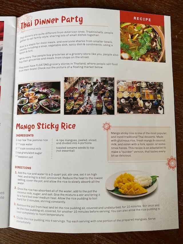 Mango sticky rice recipe - Little Global Citizens