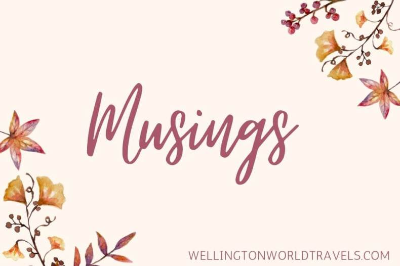 Travel Musings - Wellington World Travels