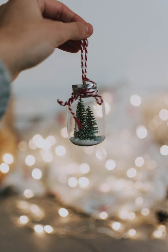 Christmas tree ornament steam activity