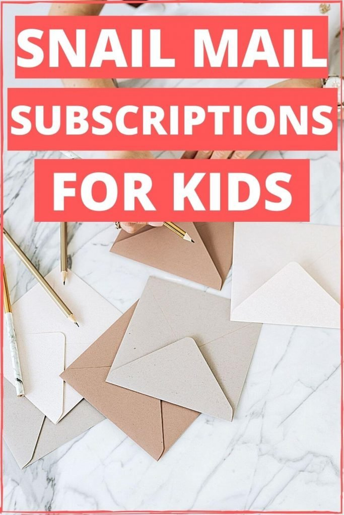 Snail Mail Subscriptions for Kids - Wellington World Travels