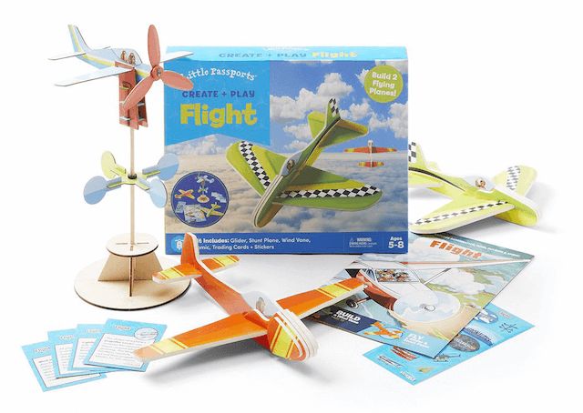 Little Passports - Flight activity box