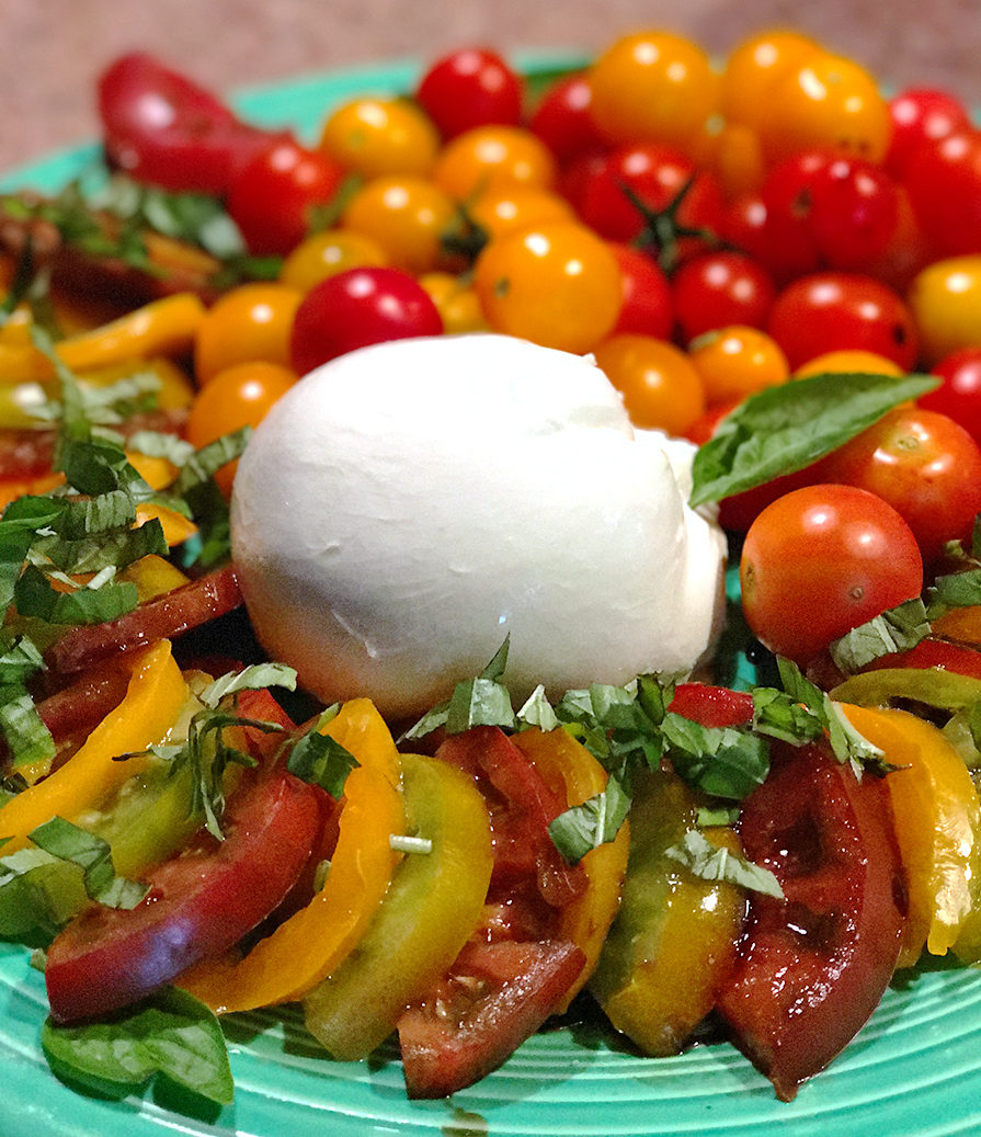 summer ideas for eating well with tomatoes