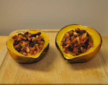 Health, Food, Diet, Acorn Squash, Apples