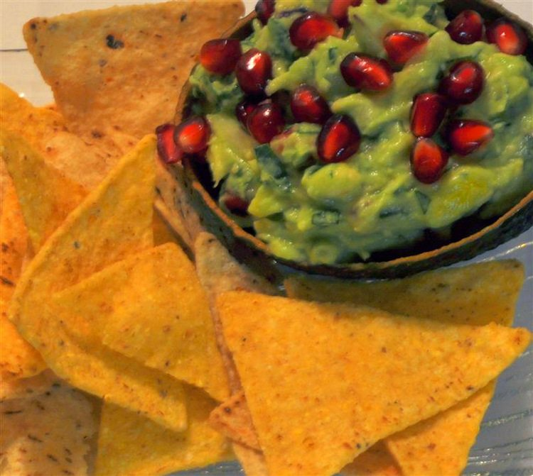 Recipe, Pomegranate, Guacamole, Avocado