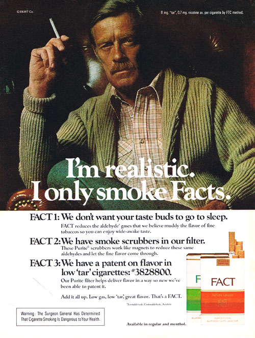 I only smoke facts picture