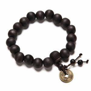 Boeddhistische armband hout