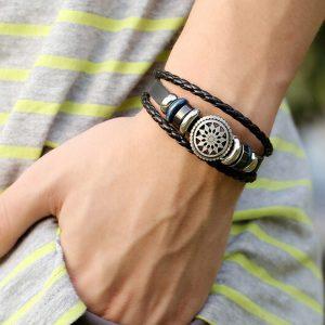 Unisex armband Wheel of Fortune