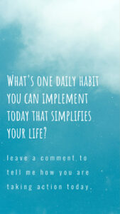 Simplify Your Life PLR Package Social Media Story quote 1