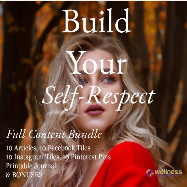 Build Your Self Respect PLR cover