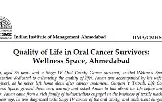 IIM-A case study - singing bowls insomnia and oral cancer