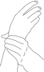 reboot tapping grab wrist