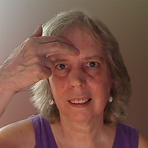 third eye intuition tapping