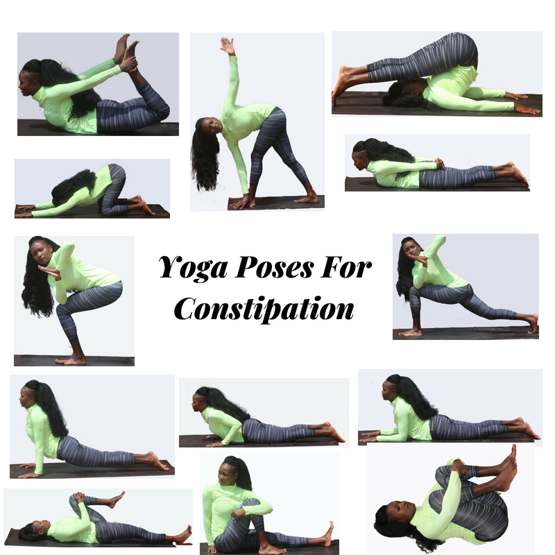 yoga poses for constipaction
