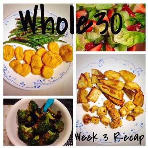 Whole30 Week 3 Recap