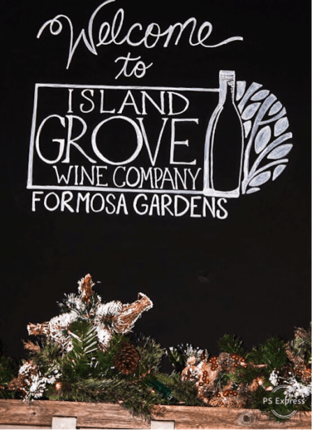 Your Guide to Island Grove Wine Company at Formosa Gardens | WellnessAndWanderlust.net