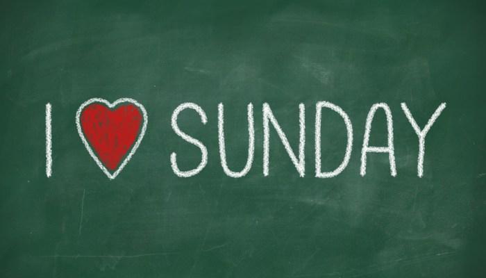 """Songercize"" Sunday"